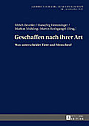 Jahrbuch der Karl-Heim-Gesellschaft, 30. Jahrgang 2017:Geschaffen nach ihrer Art. Was unterscheidet Tiere und Menschen?